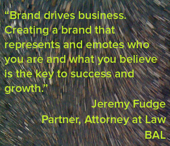 Quote: Brand drives business