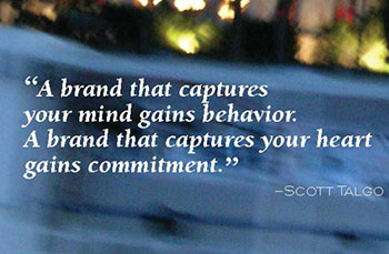 quote: a brand that captures your mind